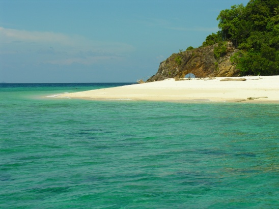 One of the most cosmic beaches I've seen; on the way to Lipe. Anyone know what it's called?