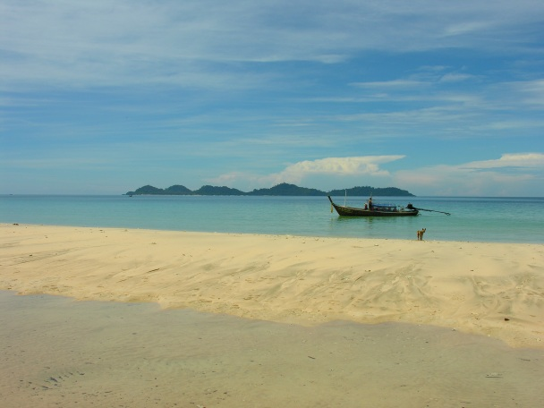 Haat Farang at Ko Muk; this was where I stayed while covering my very first island. Not too shabby.